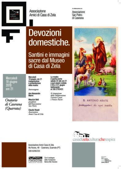 Devozioni Domestiche – Santini ed immagini sacre dal museo di Casa di Zela