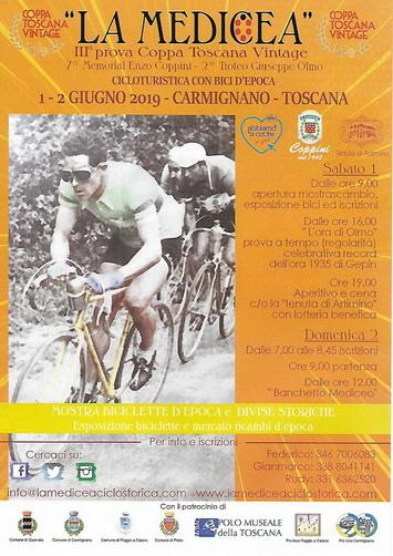 La Medicea – Terza coppa toscana vintage cicloturistica con bici d'epoca