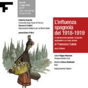 """Presentazione del libro """"L'influenza spagnola del 1918-1919"""""""